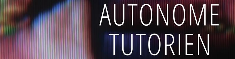 Plakat Autonome Tutorien WS15-16