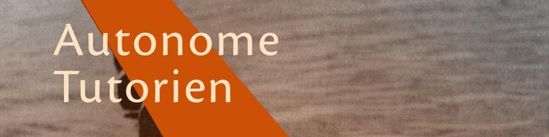 Banner Autonome Tutorien SS18