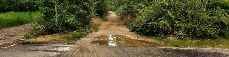 Radweg zur Lichtwiese