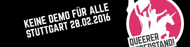 """""""Keine Demo für Alle!"""""""