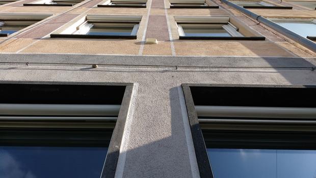 Stadthaus-Fassade, Grafenstraße