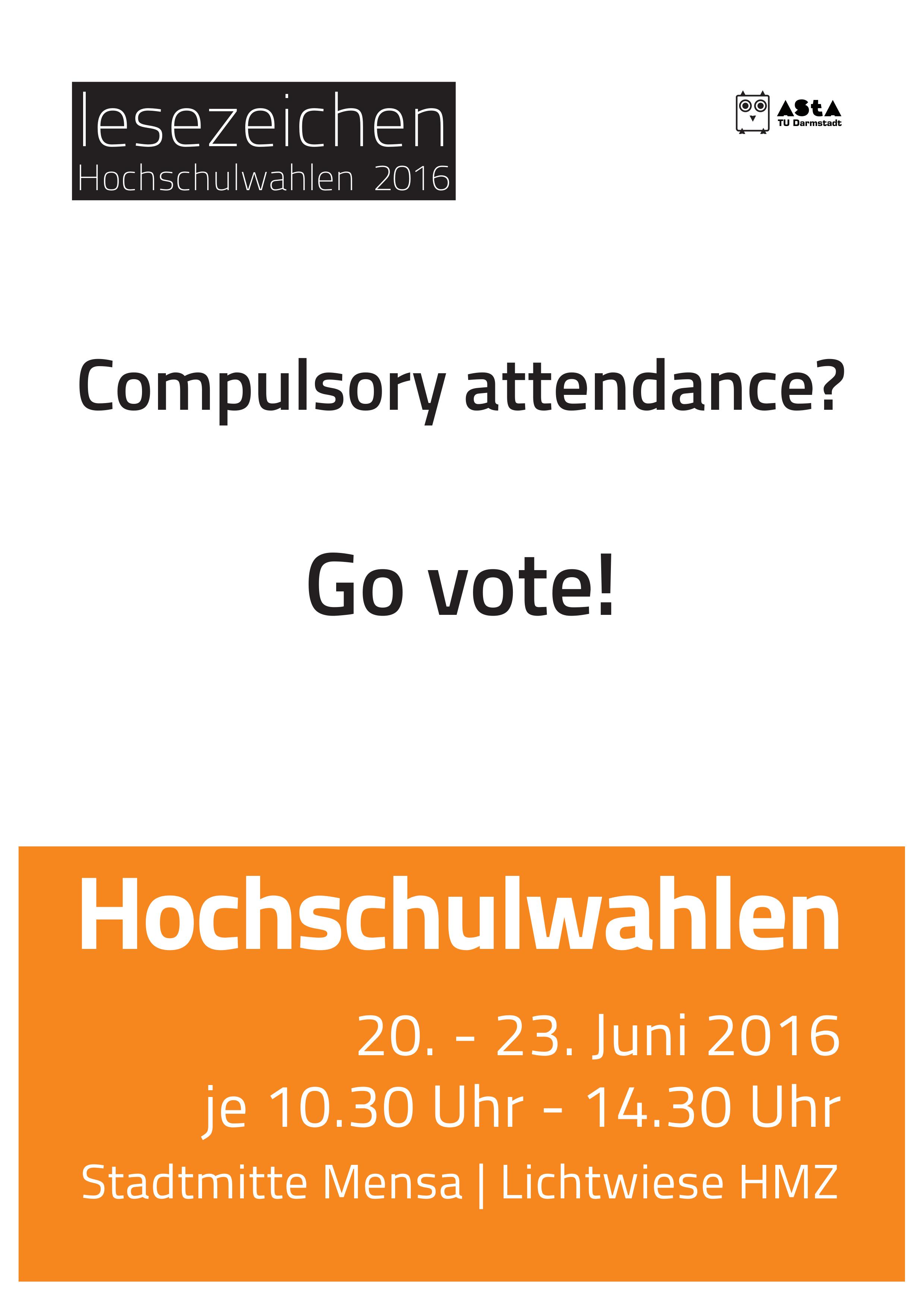 lesezeichen Hochschulwahlen 2016